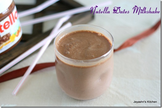 nutella shake
