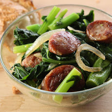 Sautéed Bratwurst with Broccoli Rabe