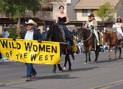 Wild women on horses