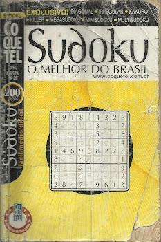 Minha revista de Sudoku