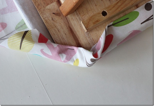 Ironing Board fold corners