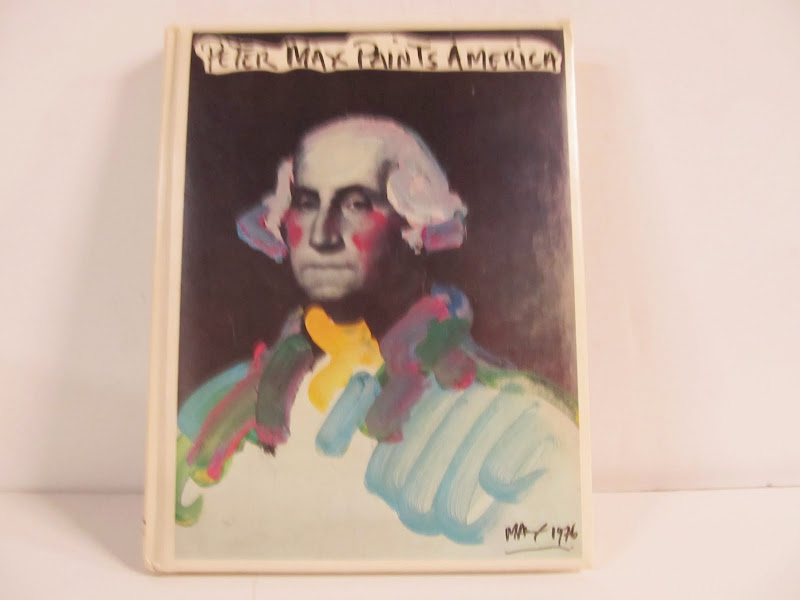 Peter Max Paints America Book 