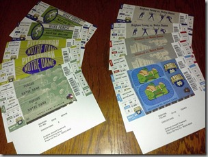 ND tickets