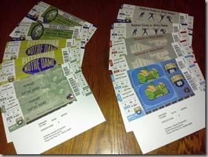 ND tickets
