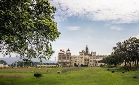 Mysorský palác, pohľad zo severu