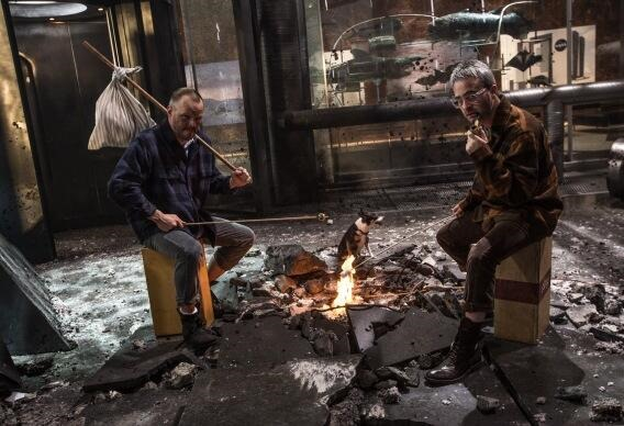 Hobos Invade the The Amazing Spider-Man 2 Set in New Photos