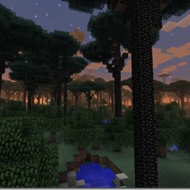Minecraft 1.3.2 - The Twilight Forest Mod