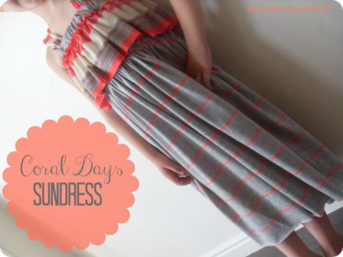 Coral Days Sundress - SumosSweetStuff.com