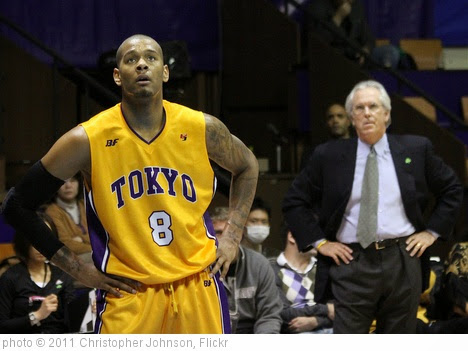 'SPORTS: Under former NBA coach Bob Hill, Jeremy Tyler matures in Japan' photo (c) 2011, Christopher Johnson - license: https://creativecommons.org/licenses/by-sa/2.0/