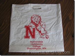 NCC Bookstore Bag