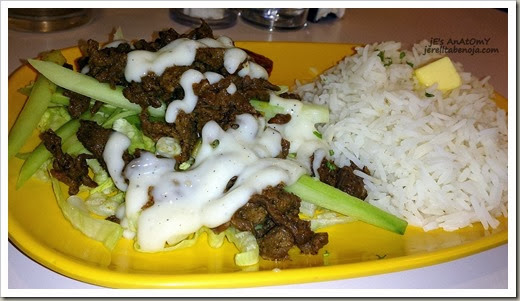 Beef Shawarma Over Rice Beef Shawarma Rice Php139