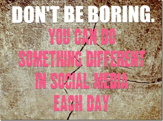 social media content ideas