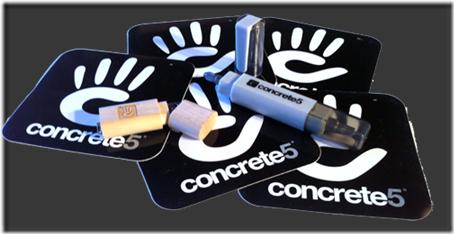 Concrete 5 CMS Web System