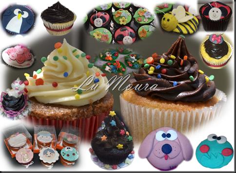 Mosaico Cupcakes Infantis