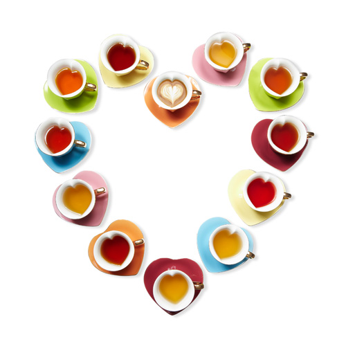 Yedi Houseware Inside Out Heart Teacups (yedihouseware.com) (photograph by Gregor Halenda)