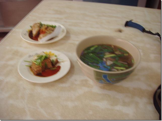 糯米腸滷味 餛飩湯