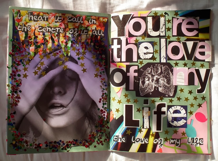 Art Collage Holly Cassell