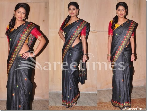 Manisha_Black_Designer_Saree