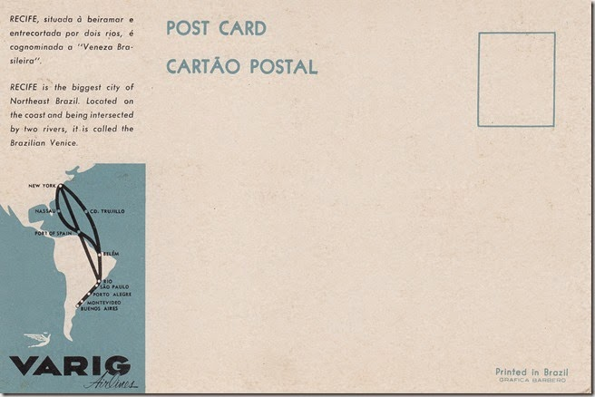Recife, Brazil Vintage Postcard pg. 2