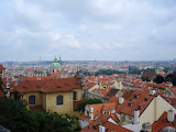 View of Prague from the Castle Quarter