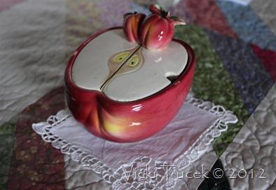 relish or jam bowls (2)