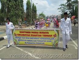 Pawai Budaya Kabupaten Kuantan Singingi di Hadiri Mambang Mit Wagub Riau