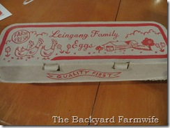 egg carton - The Backyard Farmwife