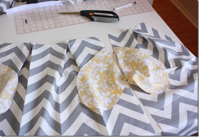 Chevron Skirt_Pockets Pinned