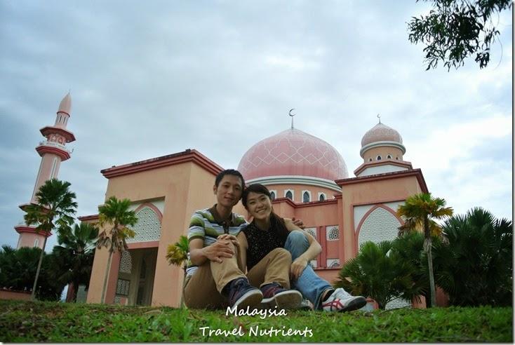 馬來西亞沙巴大學 粉紅清真寺 (20)