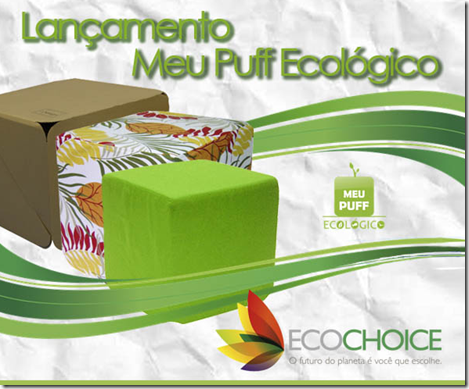puff ecologico ecochoice decoracao