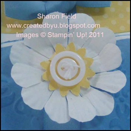 Paper Daisy layers CS53T Sharon Field, buttons