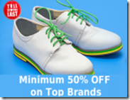Flipkart: Buy Provogue, Red Tape, Adidas, Puma, Reebok Adidas Men's Footwear at Minimum 50% OFF