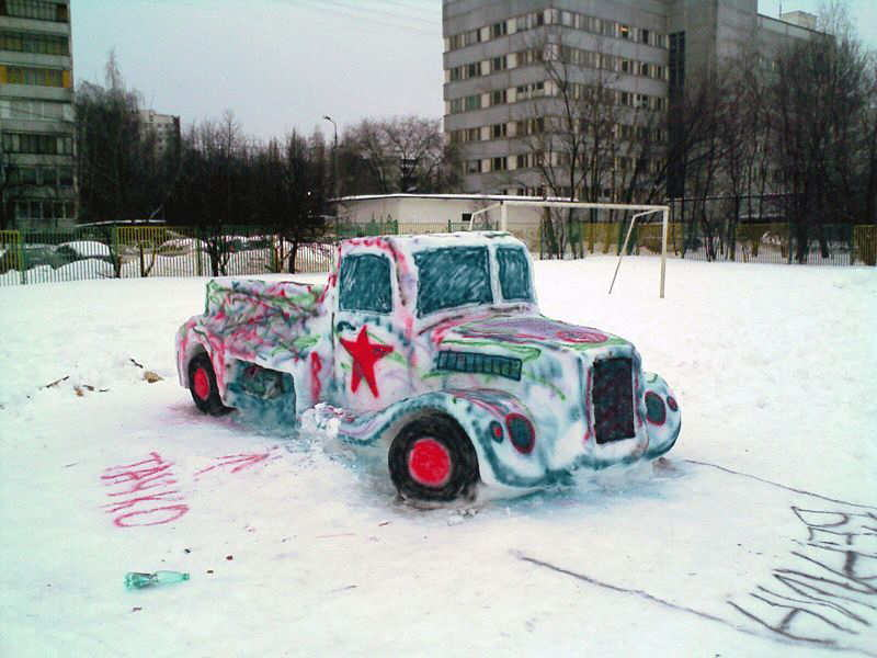 The Snow Car