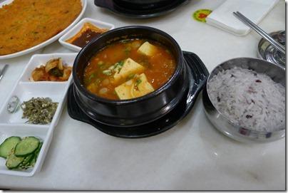 Kim Chi tofu soup