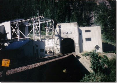 East Portal of the Cascade Tunnel at Berne, Washington in 1998
