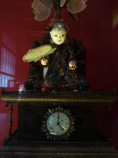 A rather scary model from the Clock Exhibition.