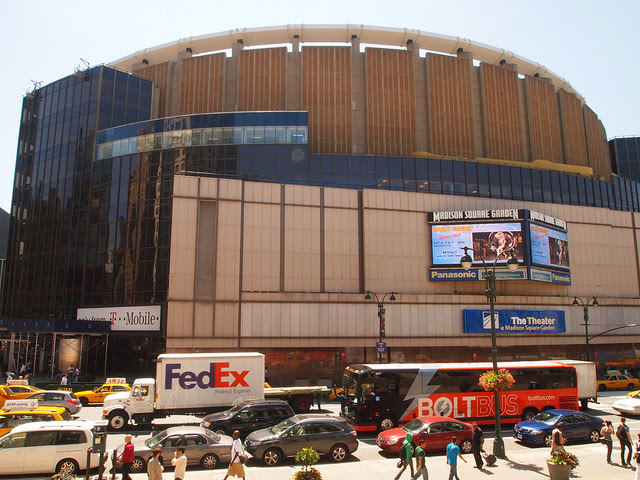 Visiting Madison Square Garden