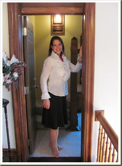 Laura's 1st day of school 054
