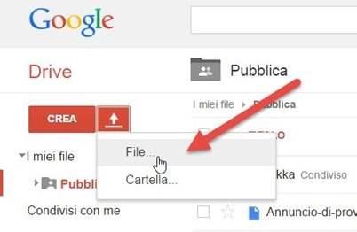 caricare-file-google-drive