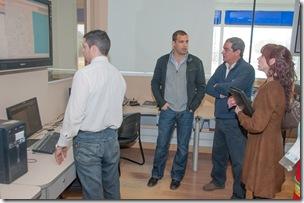 El Intendente se reunió con autoridades de las carreras en seguridad de la Universidad de Morón