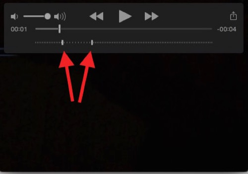 Yosemite quicktime player slow motion slider