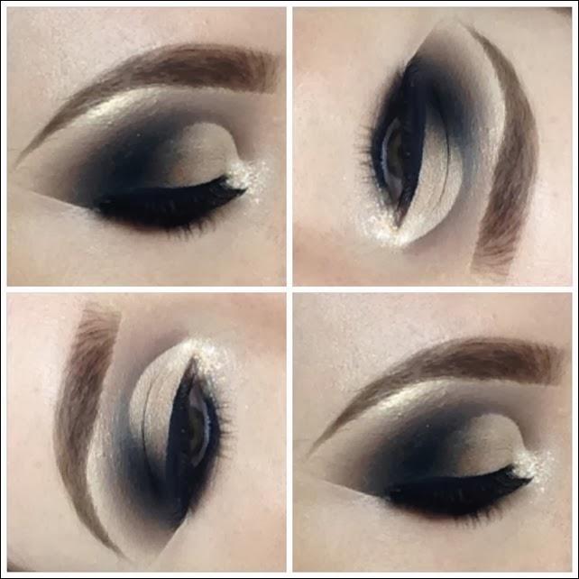 cut crease maquiagem tons neutros