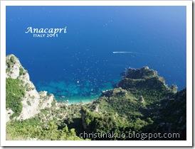 【Italy♦義大利】Capri 卡布里島 - Anacapri小鎮, Solaro山~ 美到令人窒息的壯麗山崖海景