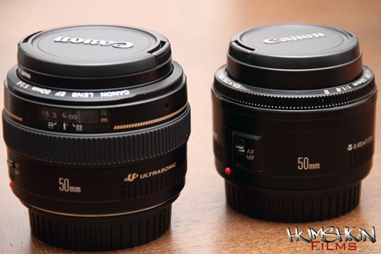 humshkin films blog canon 50mm f1 8 mkii vs canon 50mm f1. Black Bedroom Furniture Sets. Home Design Ideas