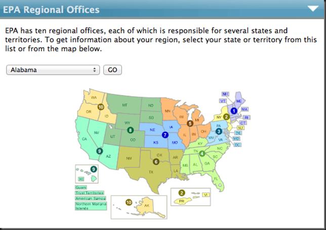 EPA 10 Regional Offices