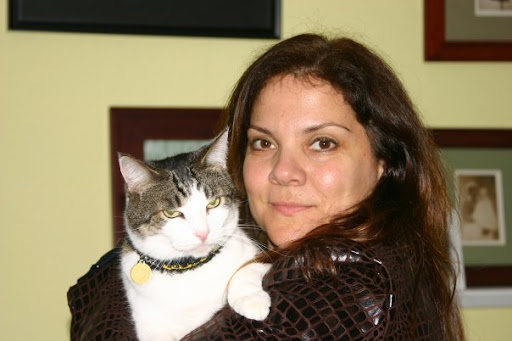 Priscilla's friend Christi Metropole, who founded The Stray Cat Alliance, a rescue group for cats, happened to be at the shelter that day saving another sweet soul in need.