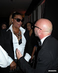 Queen Latifah y Domenico Dolce. Gentileza: Hannibal Reitano.