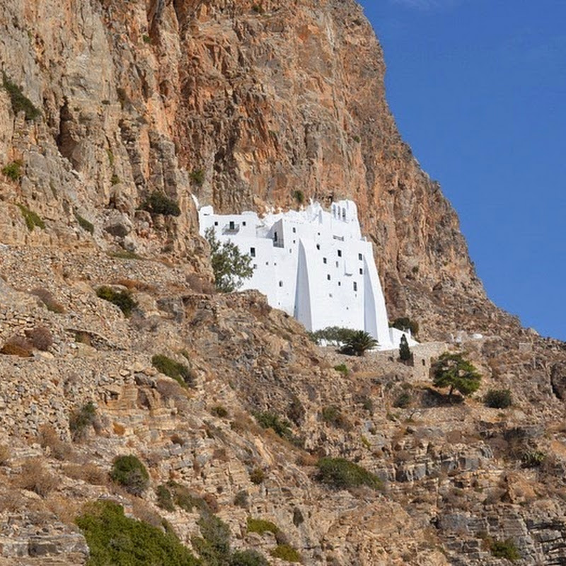 The Monastery of Panagia Hozoviotissa