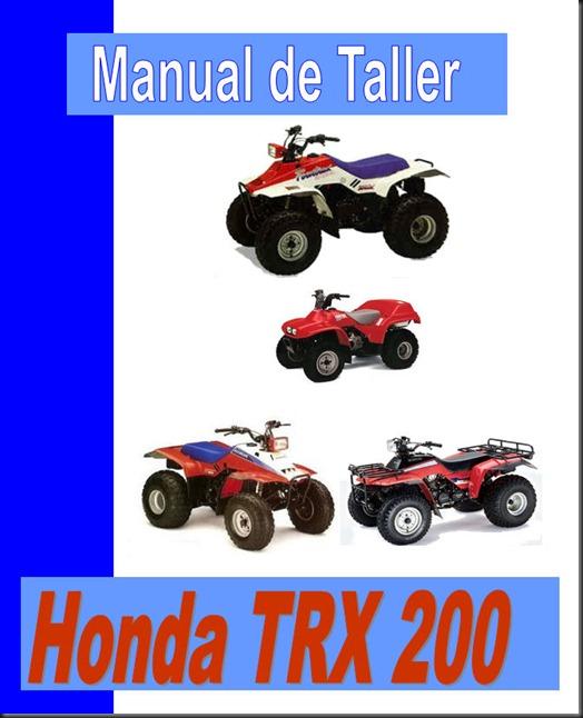 manual taller trx 200