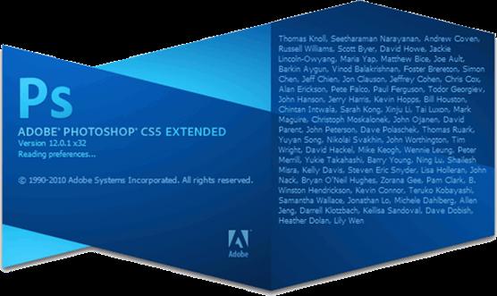 Adobe Photoshop CS5 Extended 120 Официальная русская